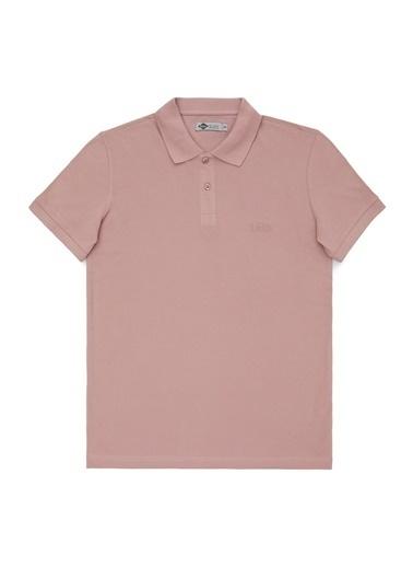 Lee Cooper Lee Cooper Erkek Pembe Polo T-Shirt Pembe